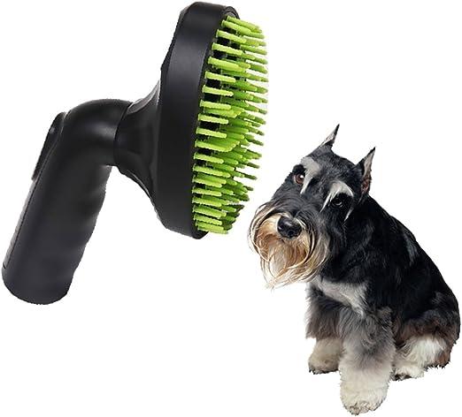 PURATEN Cepillo de pelo de mascota Aspirador Boquilla Accesorio, 360 grados Rotary Head Aspiradoras 32 mm de diámetro, Gato Perro Cepillo Cepillo Cepillo Cepillo Cepillo Cepillo Cepillo Mascota Herramienta Aspiradora Accesorios: Amazon.es: