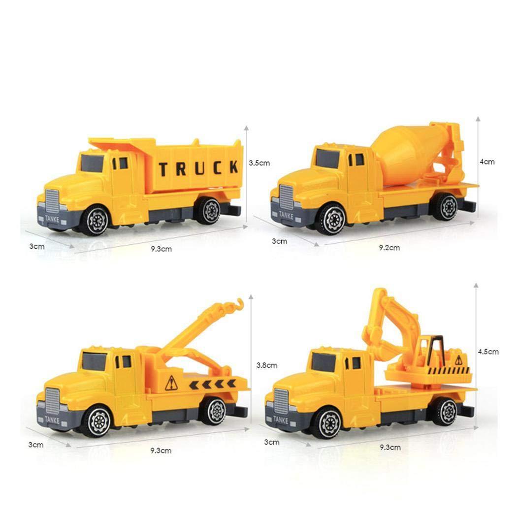 Kaimu 1:60 Construction Inertia Engineering Vehicle Kids Alloy Model Toy Push & Pull Toys