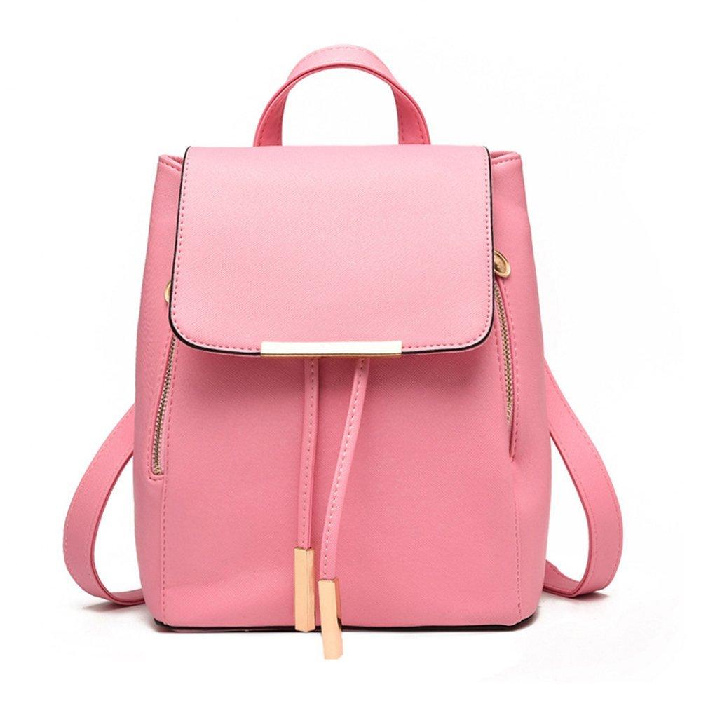 Jonon Women's Modern Design Deluxe Fashion Backpacks (L, PINK)