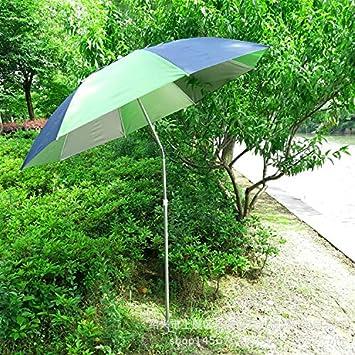 Fischen wesentlich faltet Anti-UV-Funktion OAKNO Tragbarer leichter Garten-Sonnenschirm W/ärmeisolierung der Sonnenschutz-Strand-Patio-im Freien kippende Kippschirm-/Überdachung