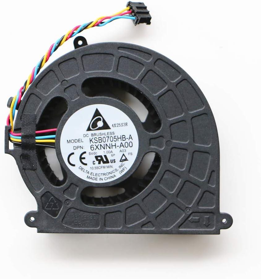 All-in-one Machine for Dell Alienware Alpha R2 D07U R2-4728B R2-4508B Alwar-2508 ASM100-6980 ASM100-1580 DP/N:6XNNH CPU Cooling Fan Gpu Fan