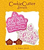 Princess Crown Cookie Stencil Set (no cutter) by Designer Stencils