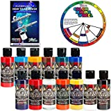 Createx TOP 12 Wicked Airbrush Paint Colors and