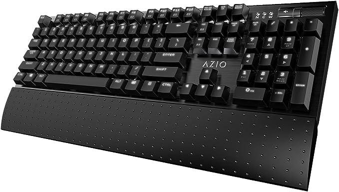 Azio Teclado mecánico retroiluminado para juegos (MGK1-K ...