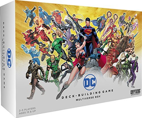 DC Deck-Building Game Multiverse - Warehouse Games