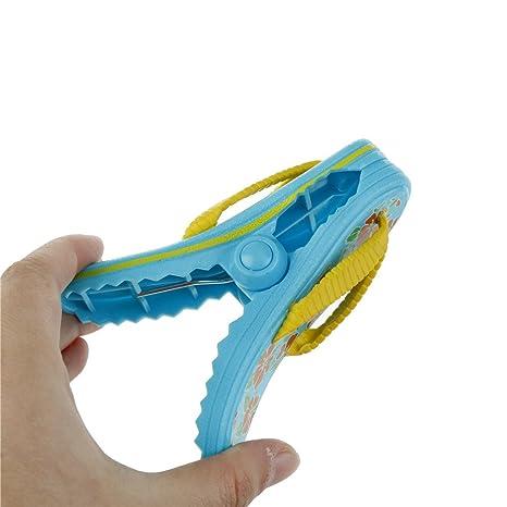 Clip de tiburón pinzas pinzas pinzas multifunción plástico toalla de playa clip para mantener su toalla