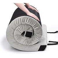"Willpo CertiPUR-US Memory Foam Camping Mattress [Single:75""x30""x2.75"" Twin 75""x38""x2.75""] Portable Sleeping Pad Floor…"