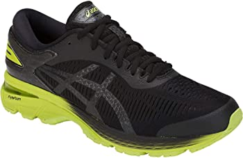 Asics GEL-Kayano 25 Men's Running Shoes (Black/Yellow)