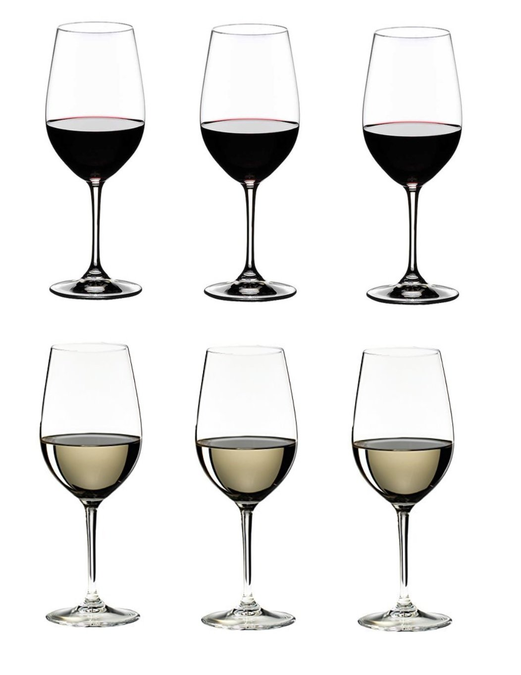 Riedel 260 Years Celebration, VINUM Riesling/Zinfandel Glasses, Set of 6
