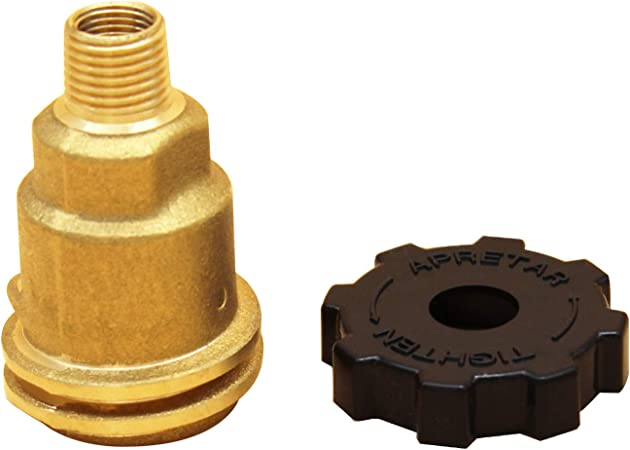 Propane Gas Adapter Brass 1//4/'/' NPT and Propane Regulator Adapter
