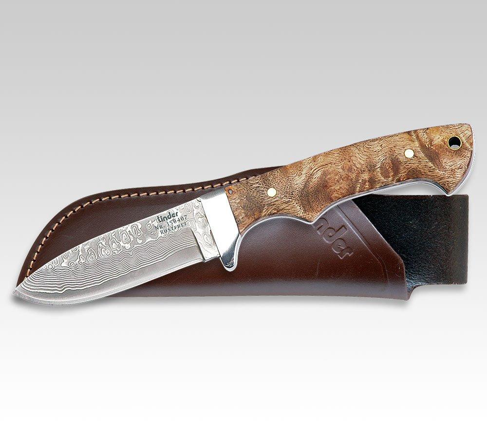 Linder Jagdmesser mit Damaststahl-Klinge 350407