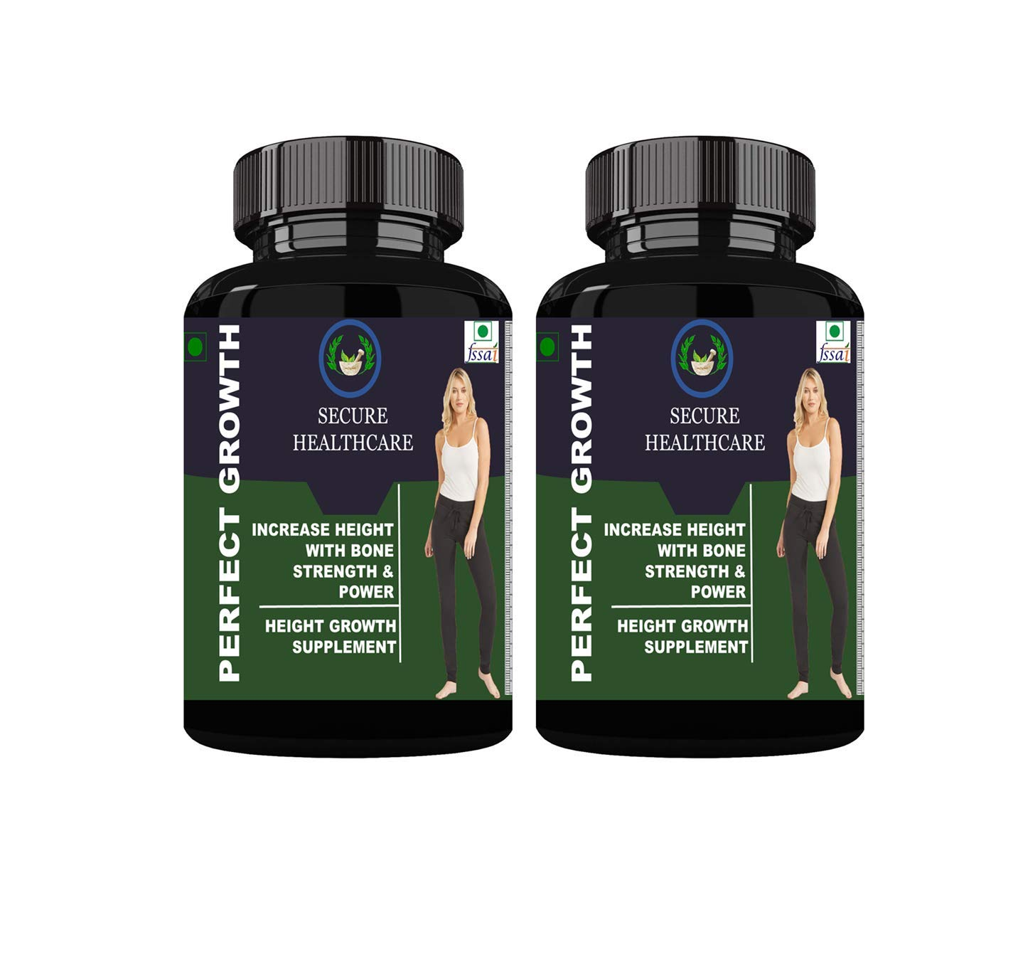Buy Perfect Growth Ayurvedic Height Supplement Pack Of 2