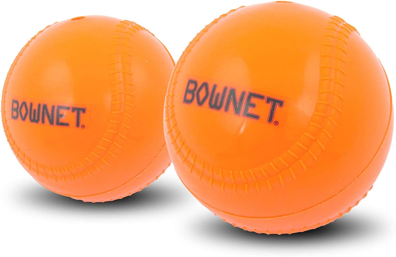 6 Pack Bownet Ballast 14 oz Weighted Pitching Training Baseball Orange
