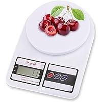 Bascula Digital Gramera para Cocina, Bascula Digital para Alimentos 10kg, Mini Balanza Cocina Con Pantalla LCD Precisa…