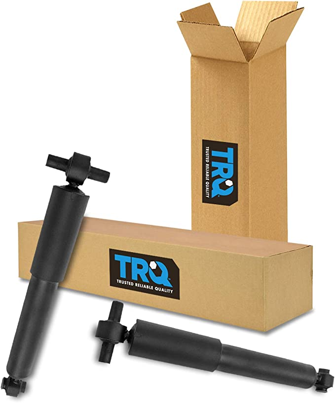 TRQ Rear Shock Assembly Side Pair 2pc for Enclave Traverse Acadia New