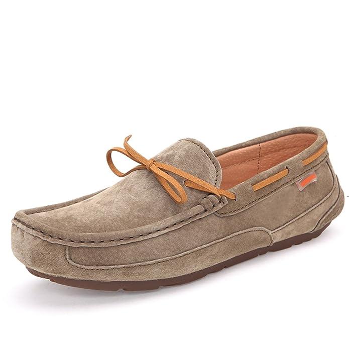38 EU Otoño invierno zapatos de frijol/ Añadir zapatos de Cachemira los hombres/Versión coreana de la tendencia de los zapatos ocasionales-H Longitud del pie=26.3CM(10.4Inch)  Naranja (Sweet Safron Safron) vpw1zeuT5