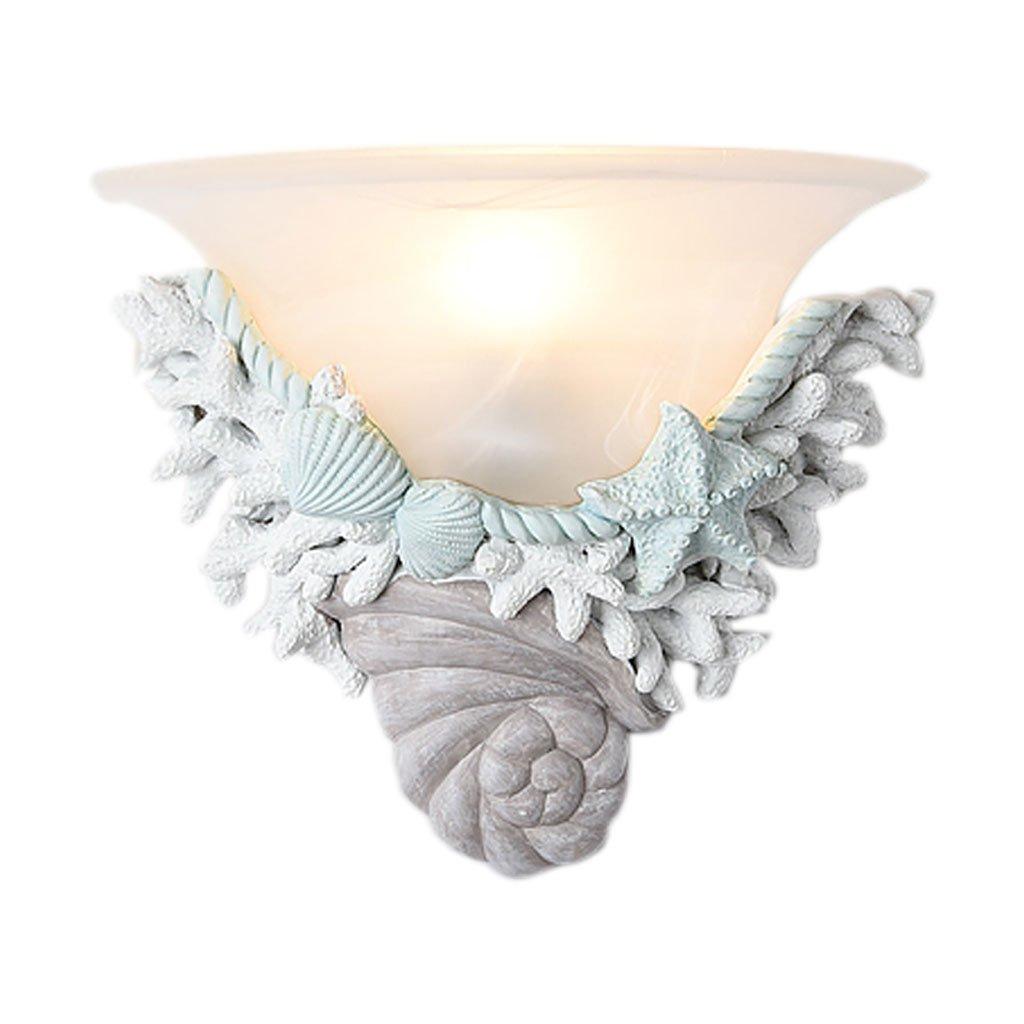 Unbekannt QIQIDEDIAN Shell Kreative Wandleuchte Wohnzimmer Esszimmer Schlafzimmer Kinderzimmer Lampe
