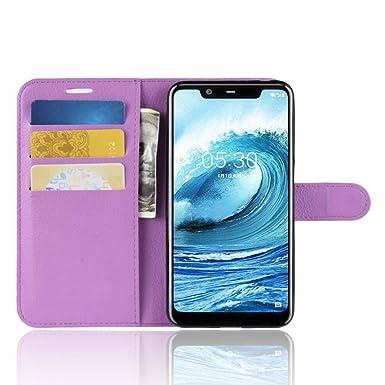 best service 74cdb 9dad9 SPAK Nokia X5,Nokia 5.1 Plus Case,Premium Leather Wallet Flip Cover ...