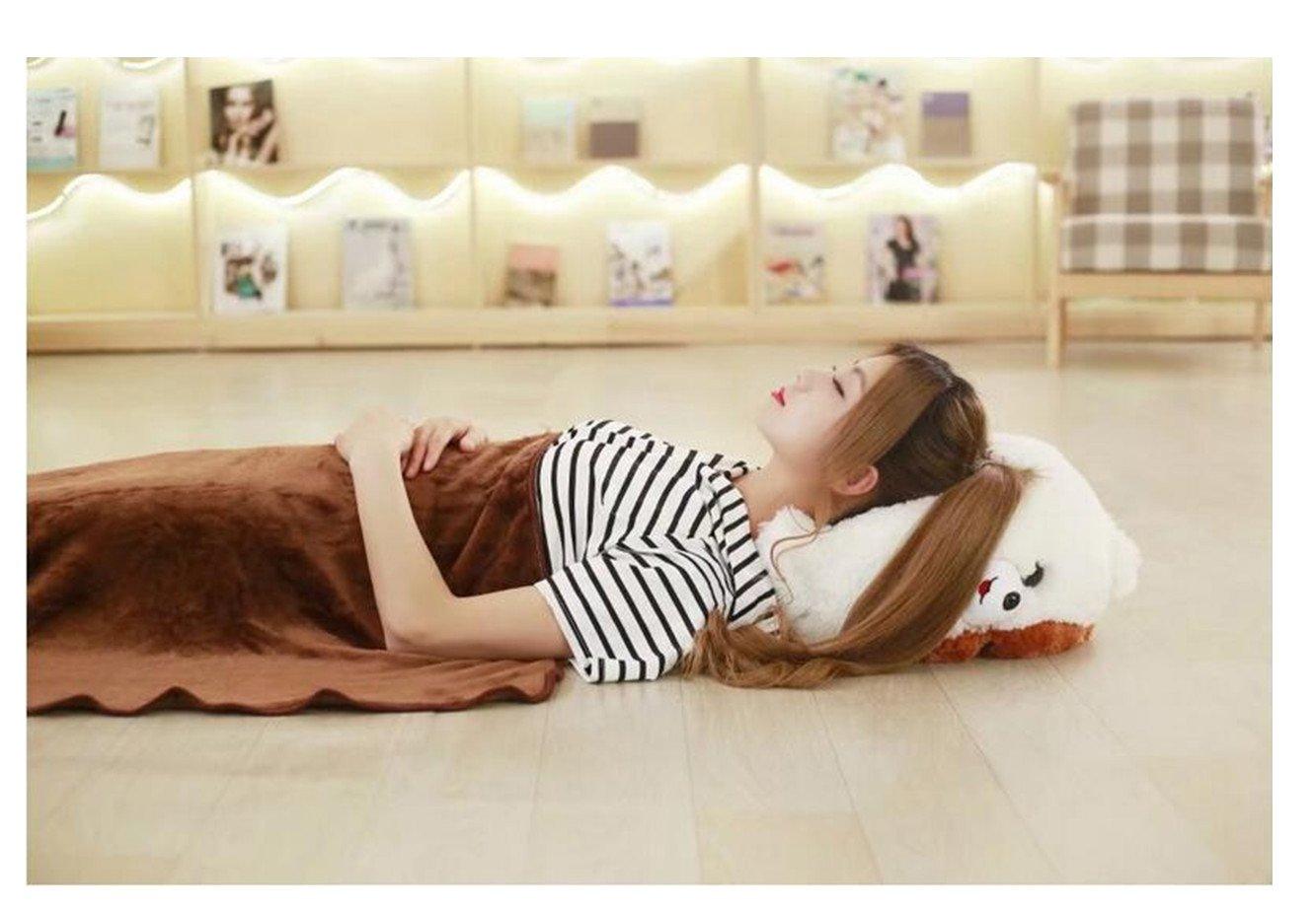 100/x 170/cm ni/ños regalo de cumplea/ños lanfire Super Cute 1pieza 30/x 40/cm Creative Cartoon almohada de Pomerania de perro de peluche con manta Insider