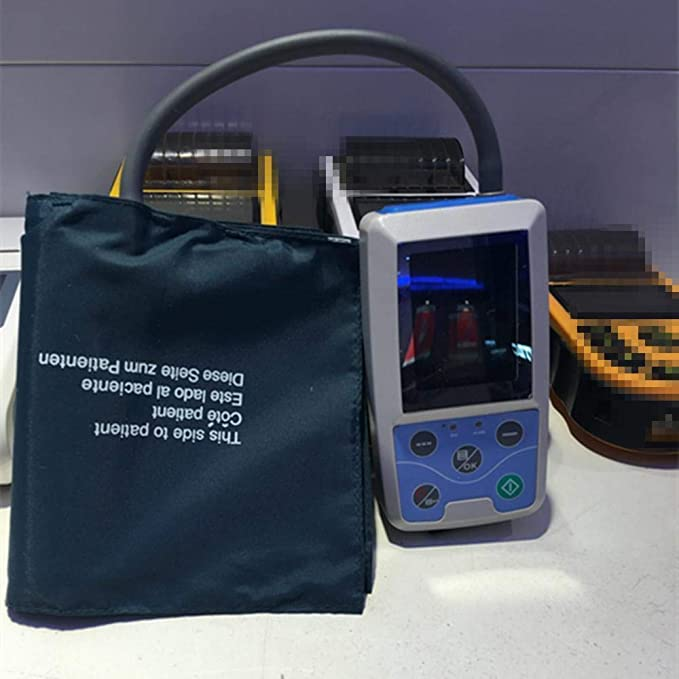 Z&Y 24 horas Monitor de presión arterial Monitor de presión Holter de sangre para pacientes + medidor de manguito: Amazon.es: Salud y cuidado personal