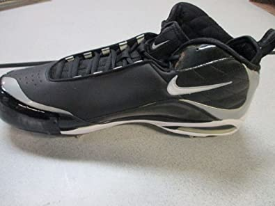 los angeles 7a7ae 41fab Nike Air Max MVP Elite 3 4 Baseball Cleats Size 9 Black Silver