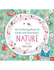 The Coloring Book of Cards and Envelopes: Nature [Idioma Inglés]