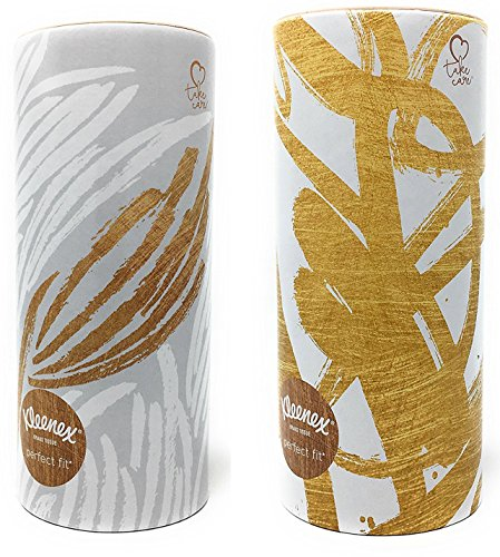Kleenex Facial Tissues Perfect Fit, Pack of 2 (Designs May Vary)