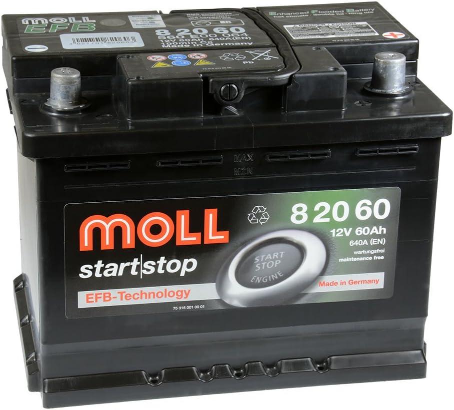 Moll Start|Stop EFB 82060 12V 60Ah