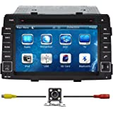 """Bluelotus®7""""Car GPS Navigation System Car Stereo DVD Player For KIA Sorento 2011 2012 2013 With Bluetooth+TV+Radio+Steering Wheel Control+RDS+Sd/usb+AUX IN+ Free Backup Camera+US Map"""