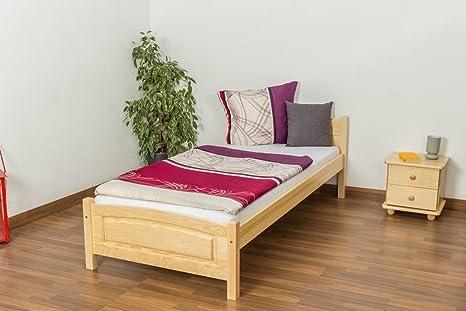 Camera Da Letto Usata In Pino : Singolo letto in legno massello di pino naturale include rete