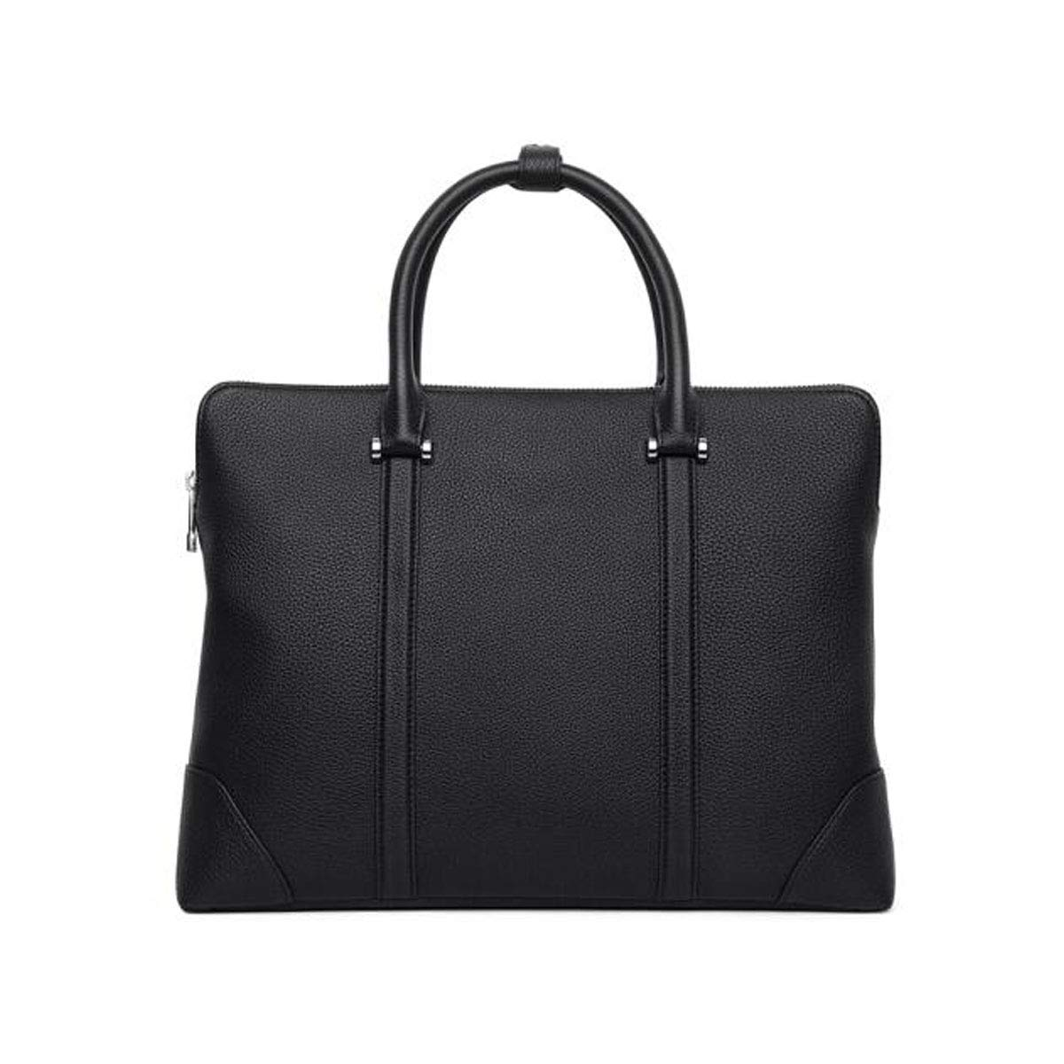 Briefcase Black Size: 36627.5cm Mens Business Tote Large-capacity Computer Bag