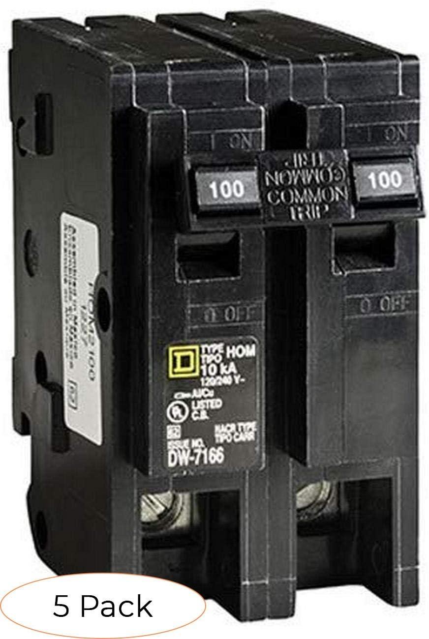 Square D Schneider Electric HOM120CP Homeline 20 Amp Single Pole Circuit Breaker