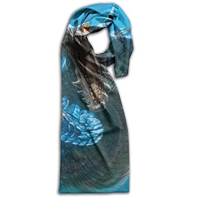 58370630c3c37 Chinese Dragon In The Water Printed Scarf Long Double Side Wrap Scarves  Warm Shawl Blanket For Men/Women at Amazon Women's Clothing store: