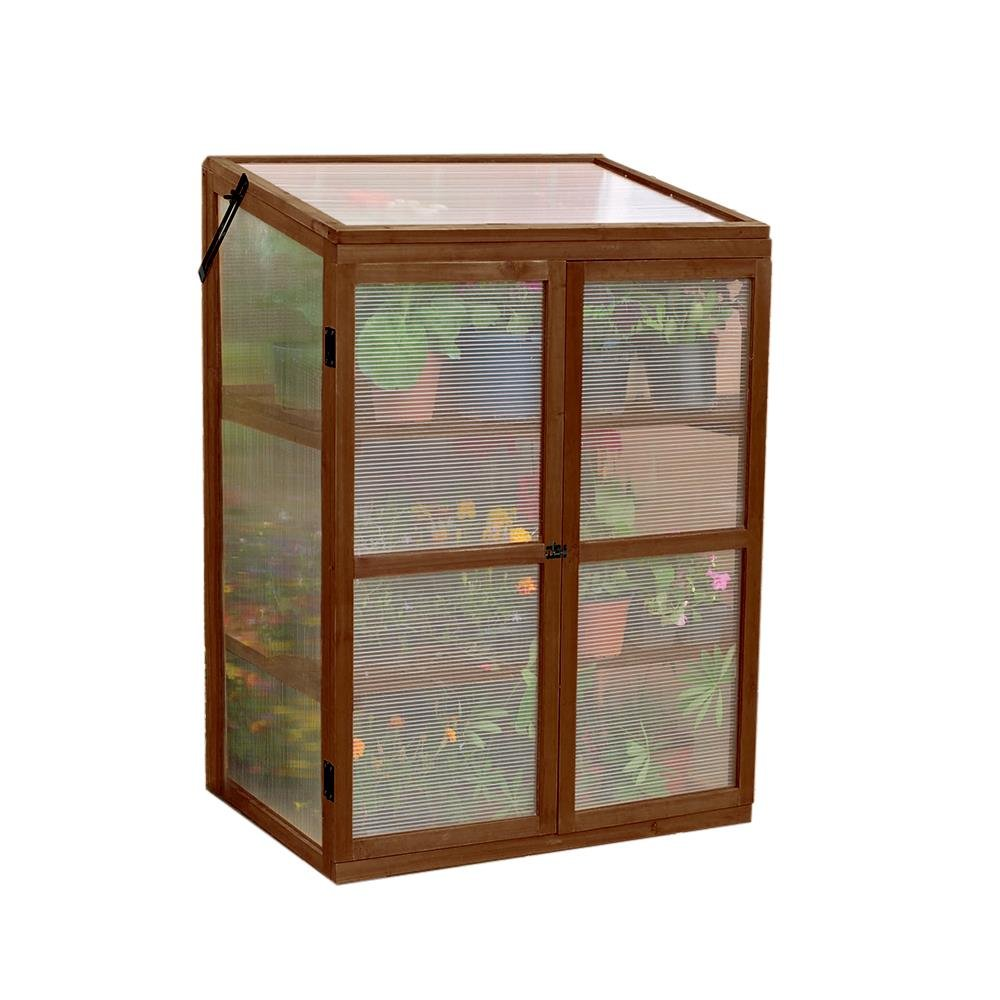Amazon.com : Gardman 7652 Wooden Cold Frame and Growhouse, FSC ...