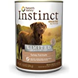Instinct Limited Ingredient Diet Recipe Natural Wet Canned Dog Food by Nature's Variety