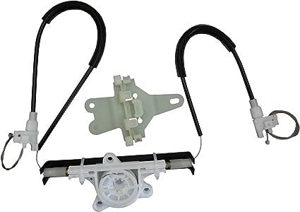 Renault Clio Regulador Ventana Clips Kit De Reparación//izquierda delantera