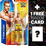 Tyson Kidd: WWE Action Figure Series #54 + 1 FREE Official WWE Trading Card Bundle