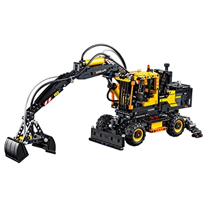 Amazon.com: LEGO Technic Volvo EW160E Excavator 42053 Construction ...