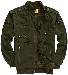 ab7b4fc6f4f FGYYG Spring Autumn New Men s Fashion Stand Collar Multi Pocket Jacket  Classic Field Survival Military Cotton