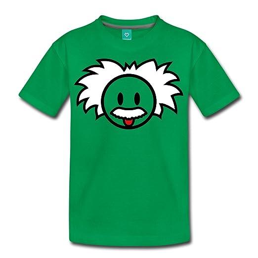 Amazon.com: Spreadshirt sonriente Einstein Icon Kids ...