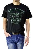 (フラグオンクルー) FLAG ON CREW ゆうパケット発送 メンズ Tシャツ 綿 半袖T ミリタリー ネイティブ アメカジ バイカー M L LL 3L 4L / D2O
