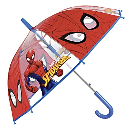 Cloche Marvel Transparent Enfant Parapluie Spiderman uPOkZiX