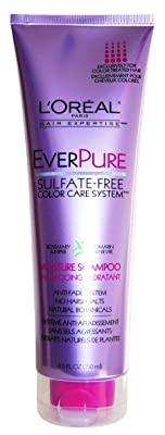 L'Oreal Paris EverPure Sulfate-Free Color Care System Moisture Shampoo