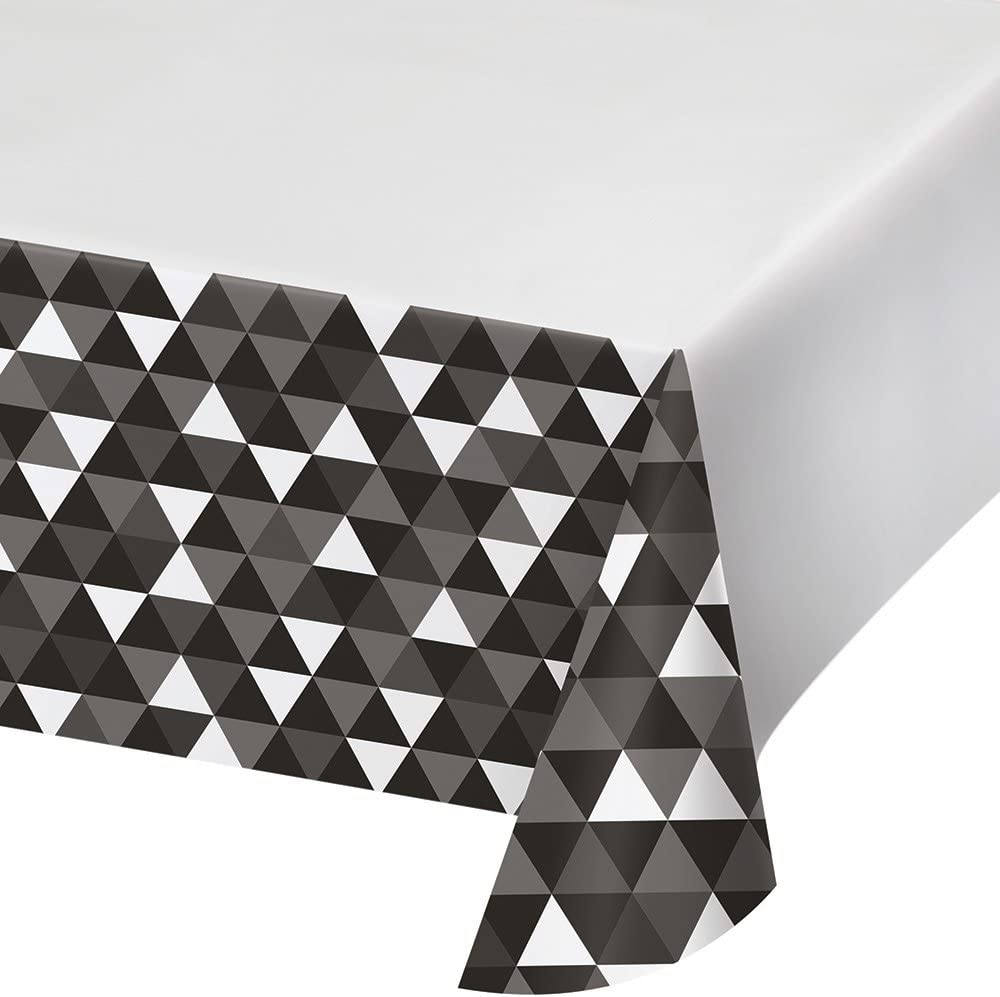 Serape 54 x 102 Creative Converting 324357 All Over Print Plastic Table cover 54 x 102