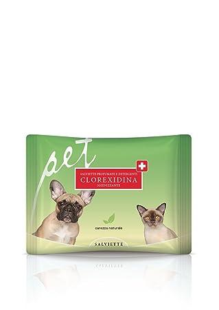 Natural La Piel Una Pet Toallitas clorhexidina: Amazon.es: Productos para mascotas