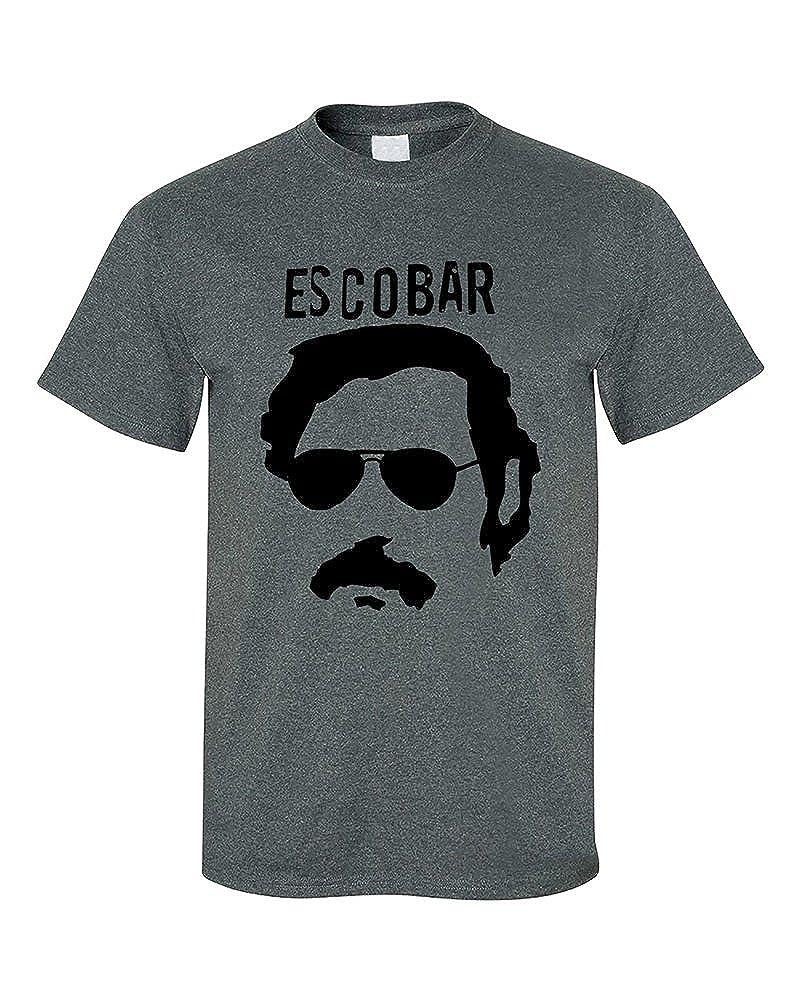 9c270e3dc39 Amazon.com  Pablo Escobar Cocaine Drug Lord Cocaine Kingpin T-Shirt   Clothing