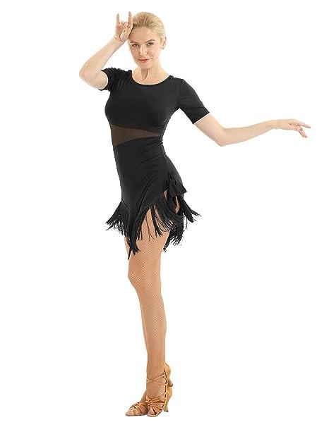 YiZYiF Vestido Danza Contemporánea para Mujer Vestido Baile ...