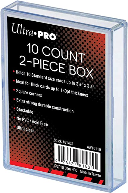 Ultra Pro 10-Count 2-Piece Case