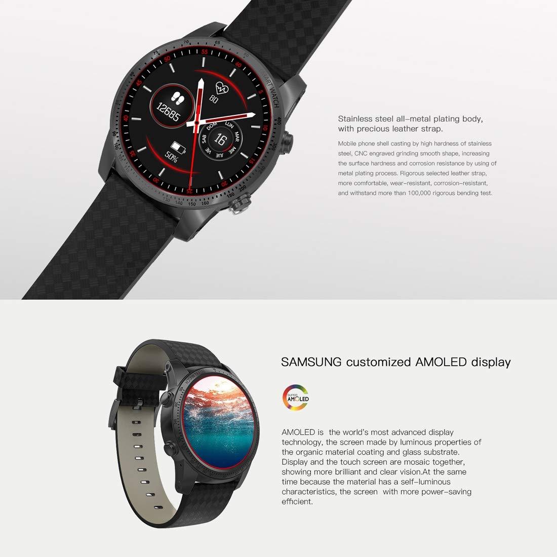Zhongcheng Fitness Watch AllCall W1 Smart Watch Phone, 2GB + ...