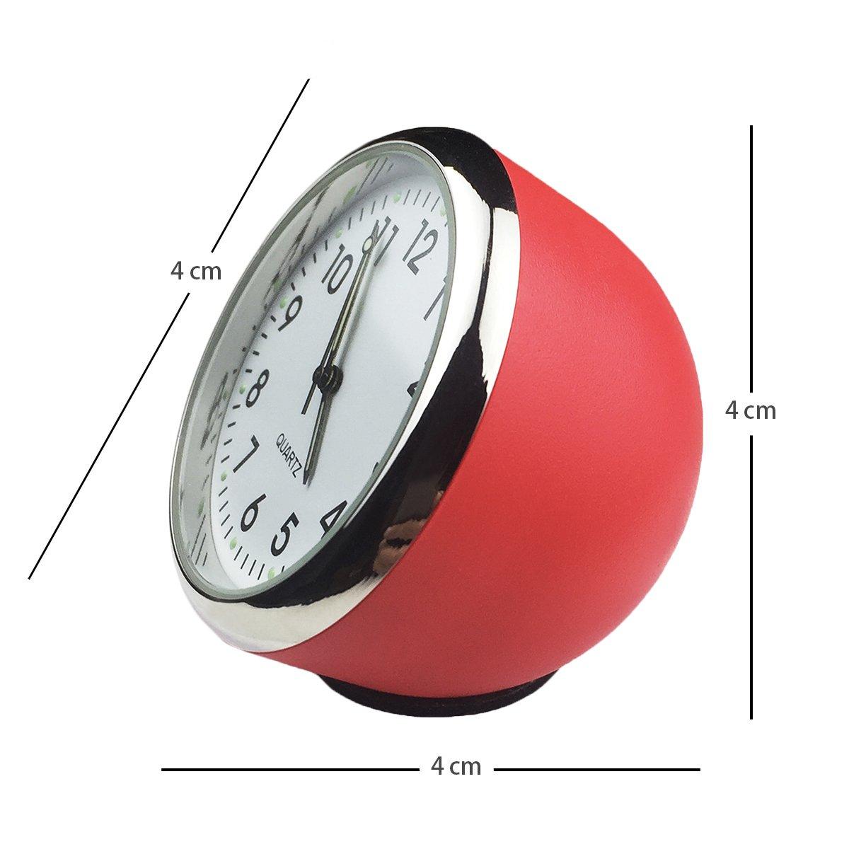 piccolo orologio rotondo da bordo orologio al quarzo rotondo da auto altamente preciso decorazione perfetta per auto Txian